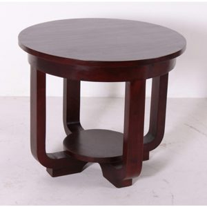 Indoor Mahogany Fotel Table