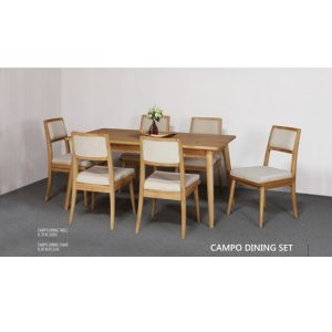 campo dining set indoor mahogany