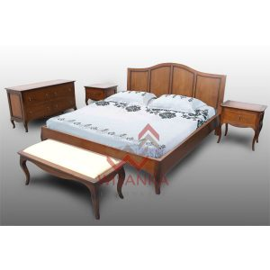 Luna bedroom set from indoor mahogany