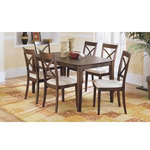 Ruby Dining Set Indoor Mahogany