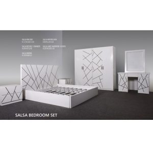 salsa bedroom set indoor mahogany