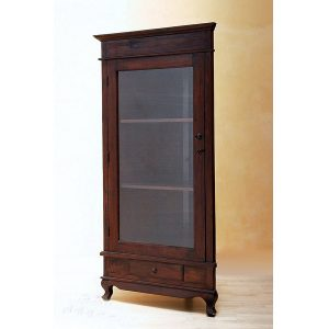 Indoor Mahogany Daija Display Cabinet