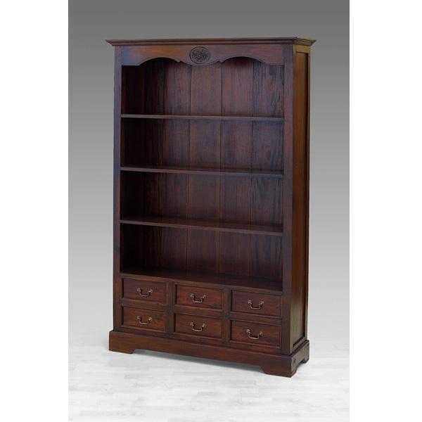 Indoor Mahogany Elizabeth Bookcase