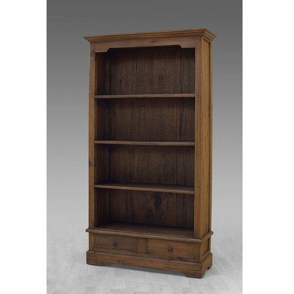 Indoor Mahogany wood Erlina Bookcase