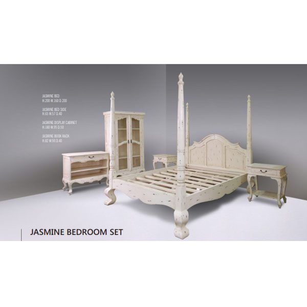Jasmine bedroom set indoor mahogany
