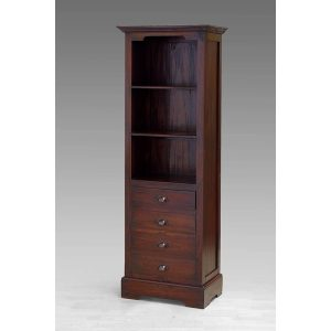 Indoor mahogany Lisa Bookcase
