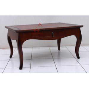Indoor mahogany Luna Coffee Table