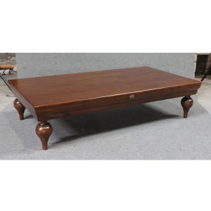 Indoor Mahogany Oriental Coffee Table