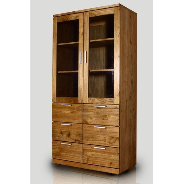 Indoor Mahogany Sheldon Kitchen Cabinet