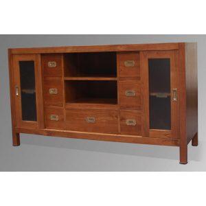 Indoor mahogany Tania Sideboard