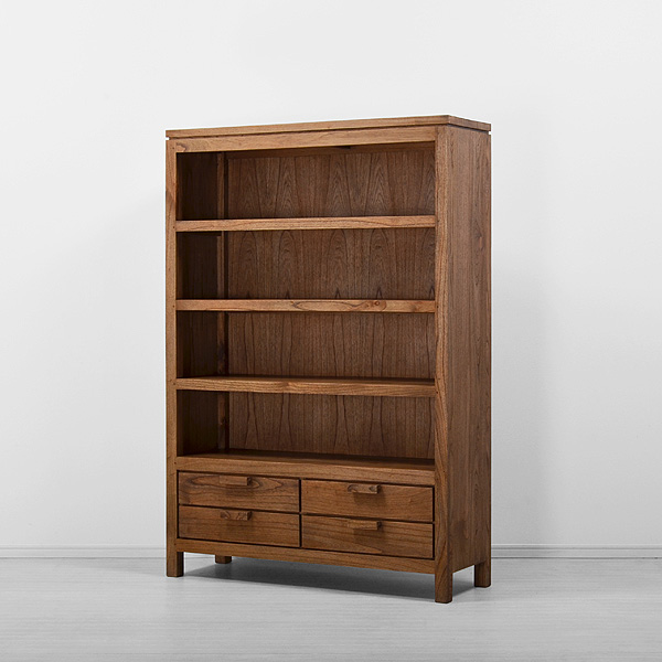 Toppe Bookrack 4 drawers with back