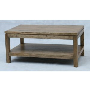 Indoor mahogany Toppe Coffee Table