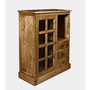 Indoor Mahogany Barito Cabinet