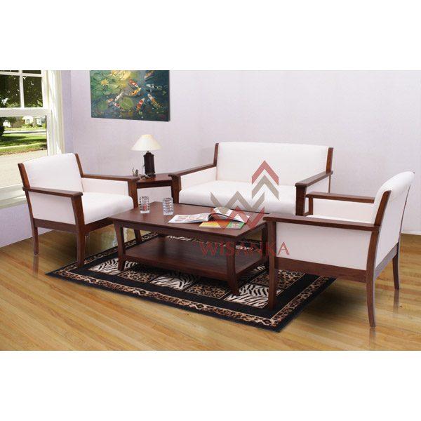 Indoor Mahogany Camurri Living Set