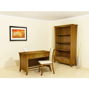 Indoor mahogany camurri home office set