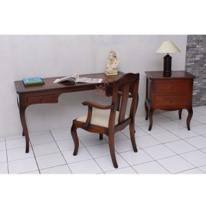 indoor mahogany Luna Office Set