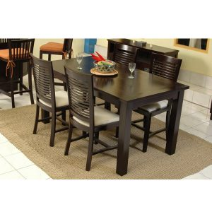 Mexican Dining Set Indoor Mahogany