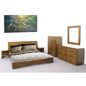 pamela bedroom set from indoor mahogany wood