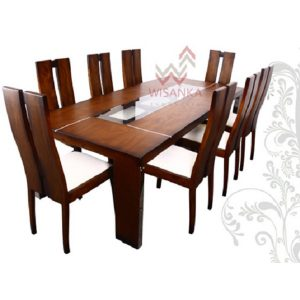 Sammy Dining Set Indoor Mahogany